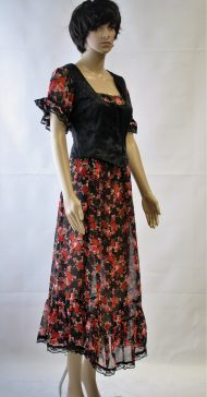 Moulin rouge jurk met vestje