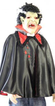 Dracula cape met masker