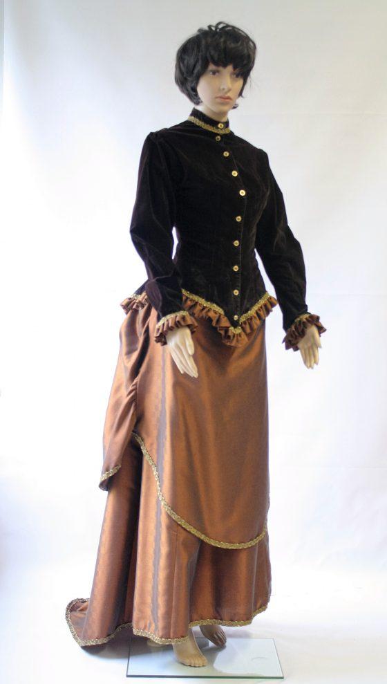 Tournure kostuum