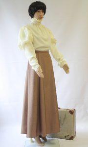 Historische rok en blouse