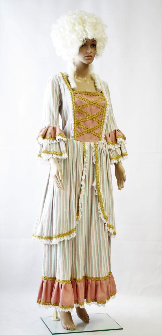 Roccoco kostuum met pruik