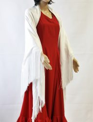 Flamencojurk met omslagdoek